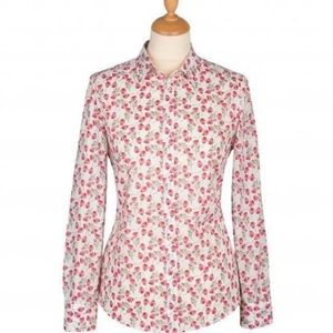 J Crew Liberty Perfect Shirt in Ros Floral